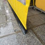 Regenplane mit Schmutzlappen