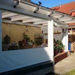 Terrassenschutz gegen Regen