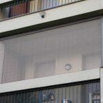 Tuch mit freier Sicht für den Balkon